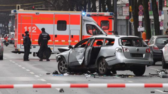 Wybuch samochodu w Berlinie!