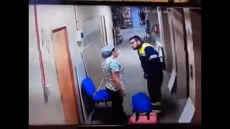 SKANDAL w szpitalu! Ratownik pobił ciężarną pielęgniarkę – VIDEO