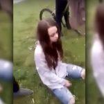 """Gimnazjaliści znęcają się nad nastolatką (VIDEO 18+) """"Ty kurw*jeban*. Teraz żuj"""" – Wpychali jej do ust…"""