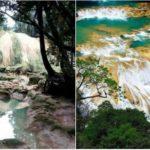 Jeden z najpiękniejszych wodospadów Meksyku ZNIKNĄŁ! Turyści zawiedzeni, mieszkańcy przestraszeni – co stało się z największą atrakcją regionu? [FOTO]