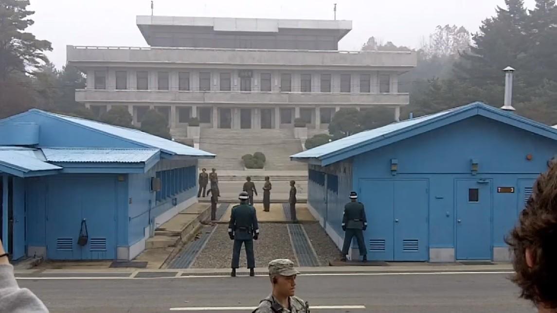 strzały na granicy Korei, dezercja żołnierz, Korea Północna
