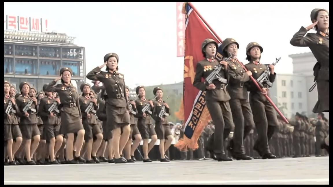 Kim Dzong Un i jego armia