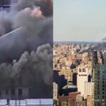 Manhattan PŁONIE! Ponad 200 strażaków walczyło z ogniem, dziesiątki ludzi straciło dach nad głową [FOTO&VIDEO]