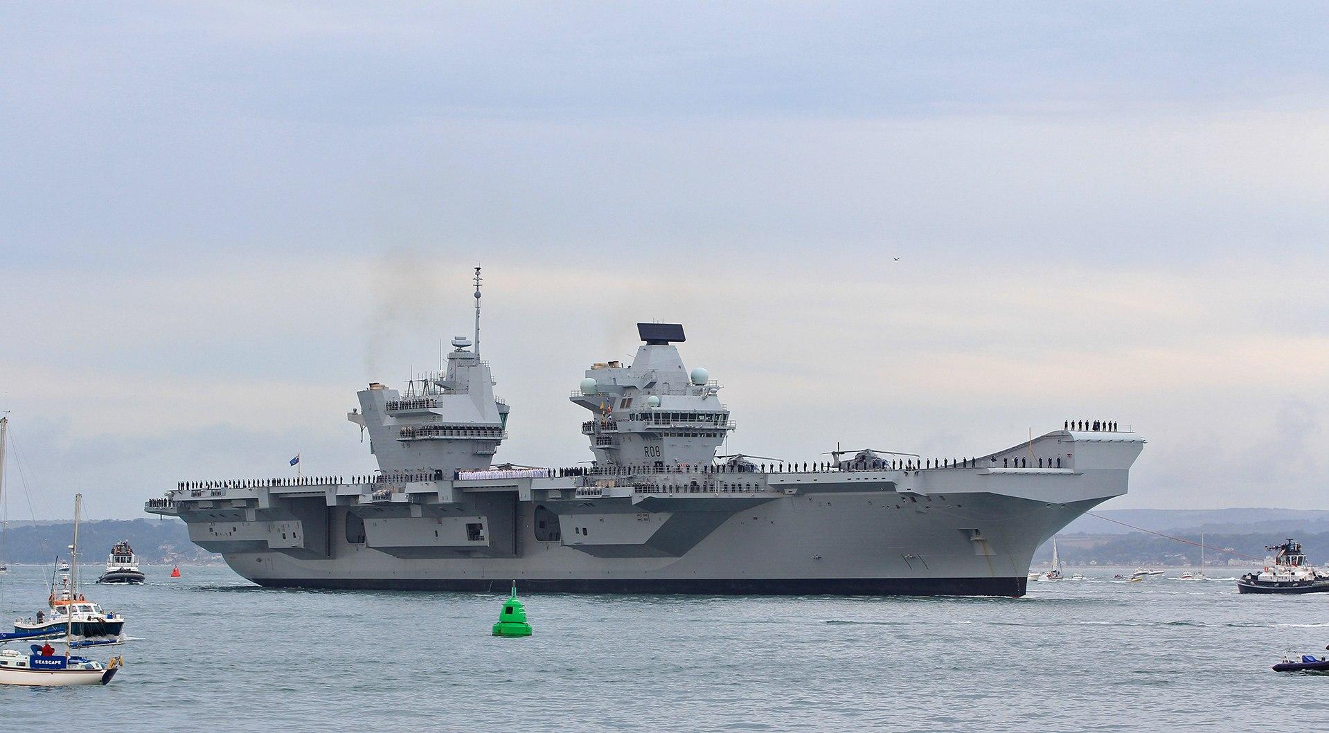 brytyjskiej marynarki okręt flagowy