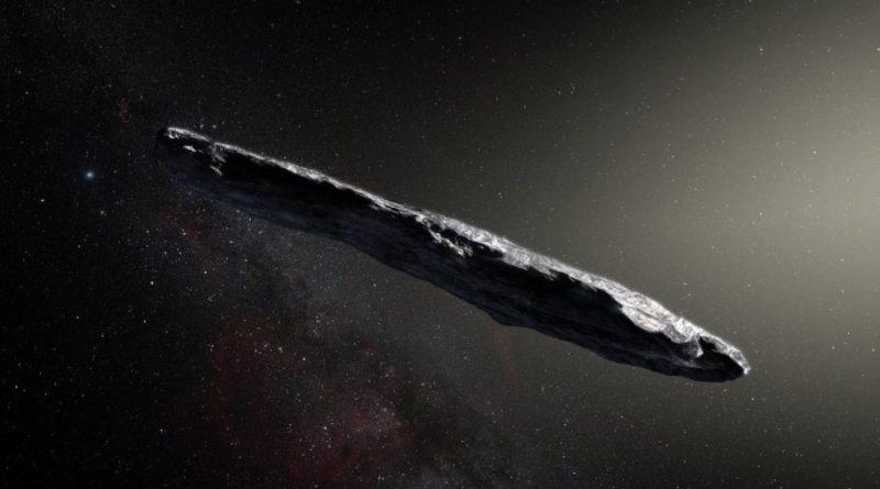 asteroidę, statek zwiadowczy Oumuamua