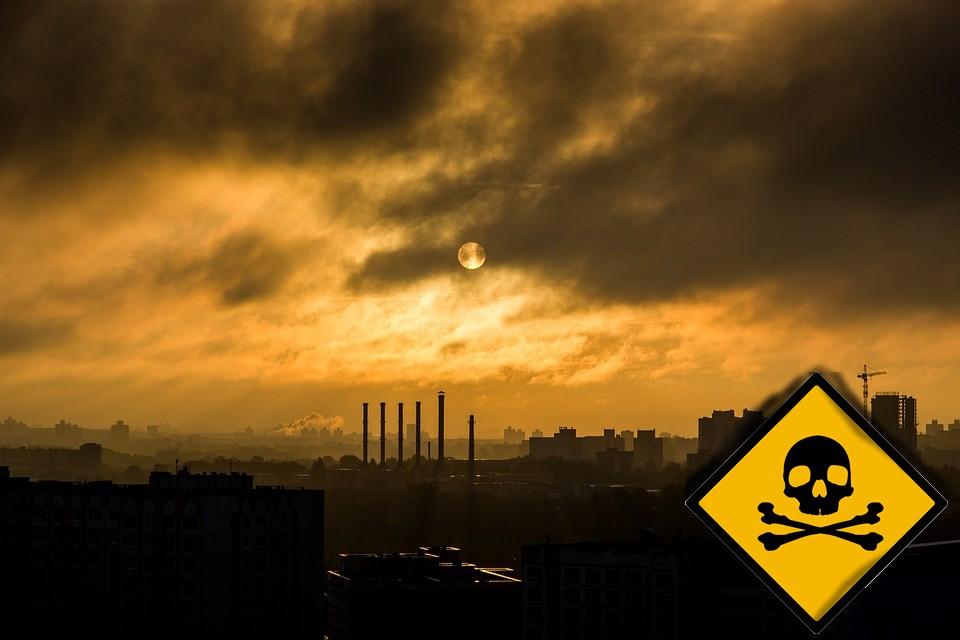 arsen, smog, toksyczny, zatrucie,