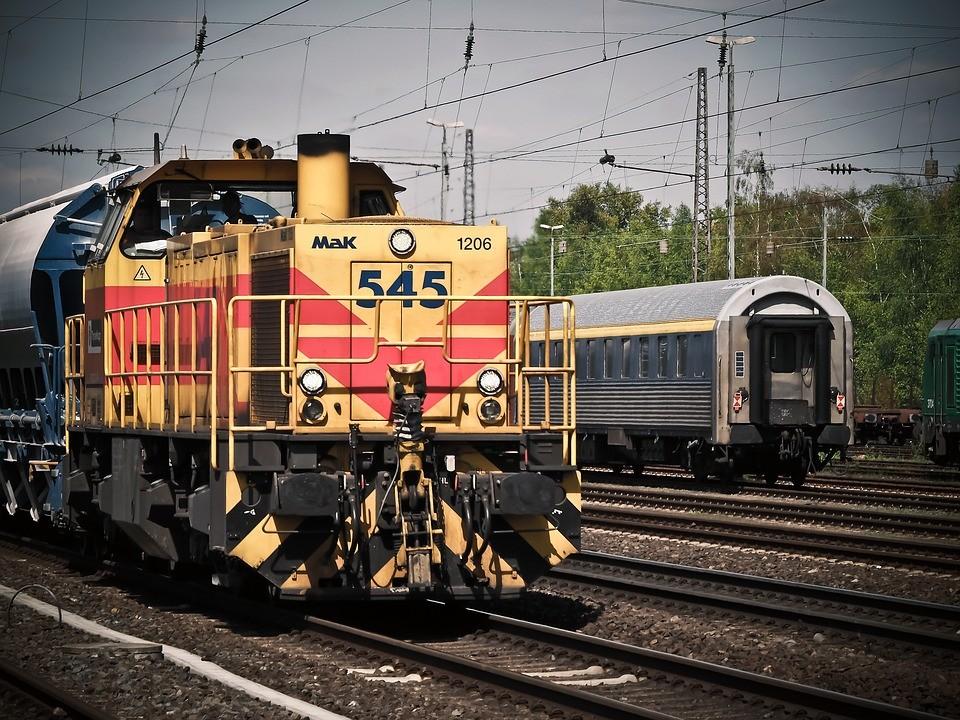 dwie polki, pociąg, holandia