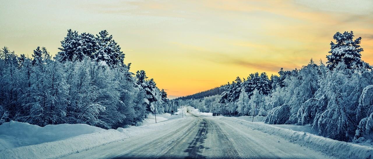 śnieg, zima, mróz, spacer, pogoda