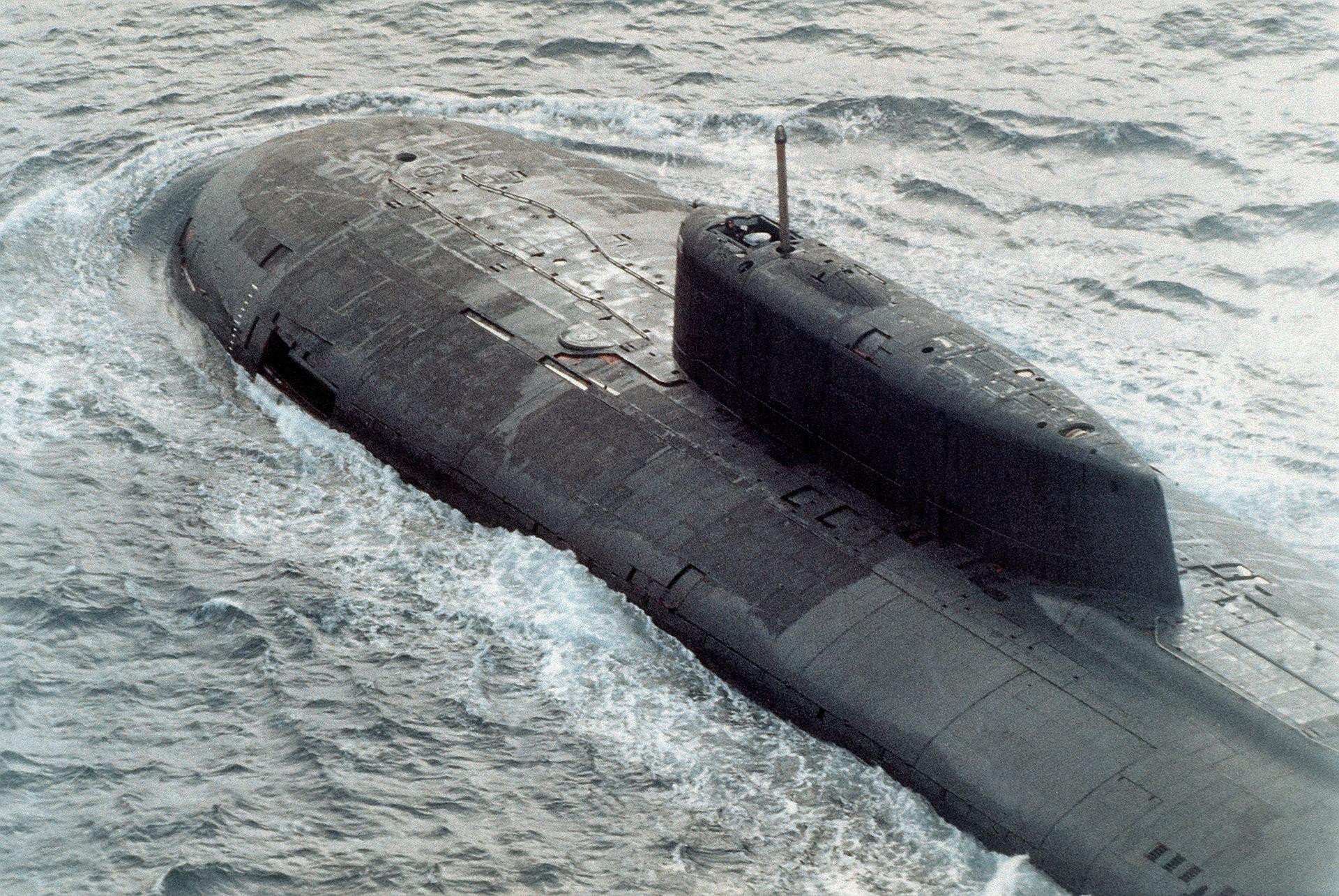 ładunki jądrowe na podwodnych dronach