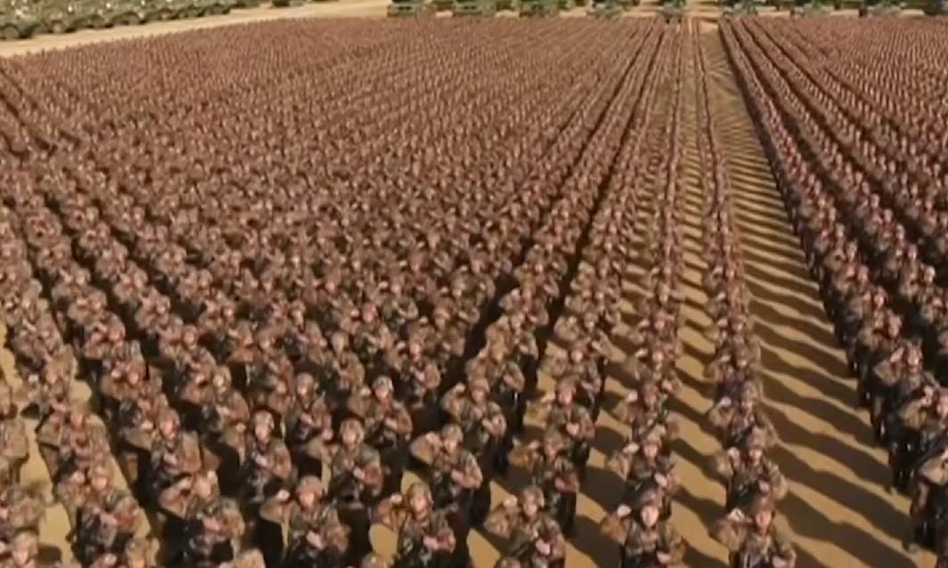chiny, armia, wojsko, wojna, korea północna, granica