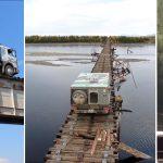 [VIDEO] Najgorszy most na świecie – żeby go przejechać potrzeba nerwów ze stali!
