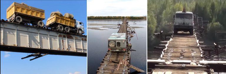Ten most to sprawdzian nerwów dla każdego kierowcy. Odważyłbyś się? [VIDEO]