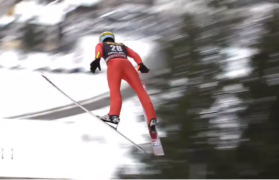 skoczek, skoki w Zakopanem polski skoczek narciarski jan ziobro