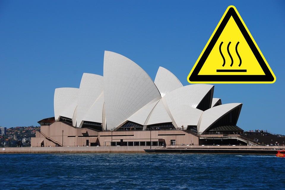 upały w australii