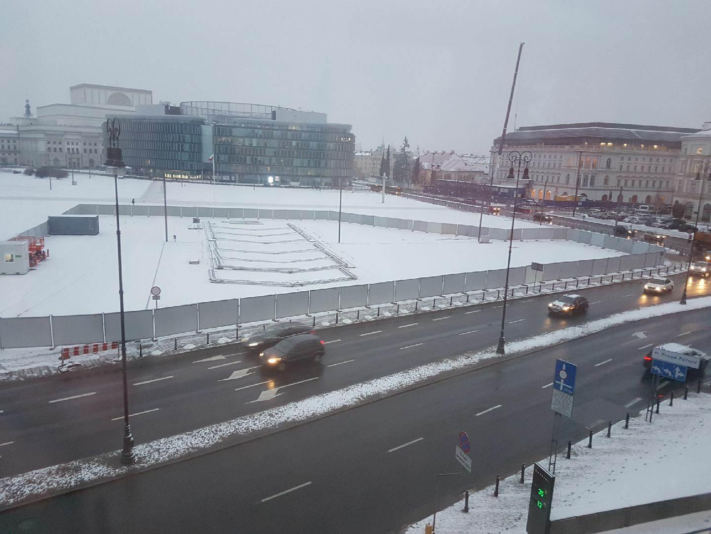 pomnik, smoleńsk, warszawa, plac Piłsudskiego