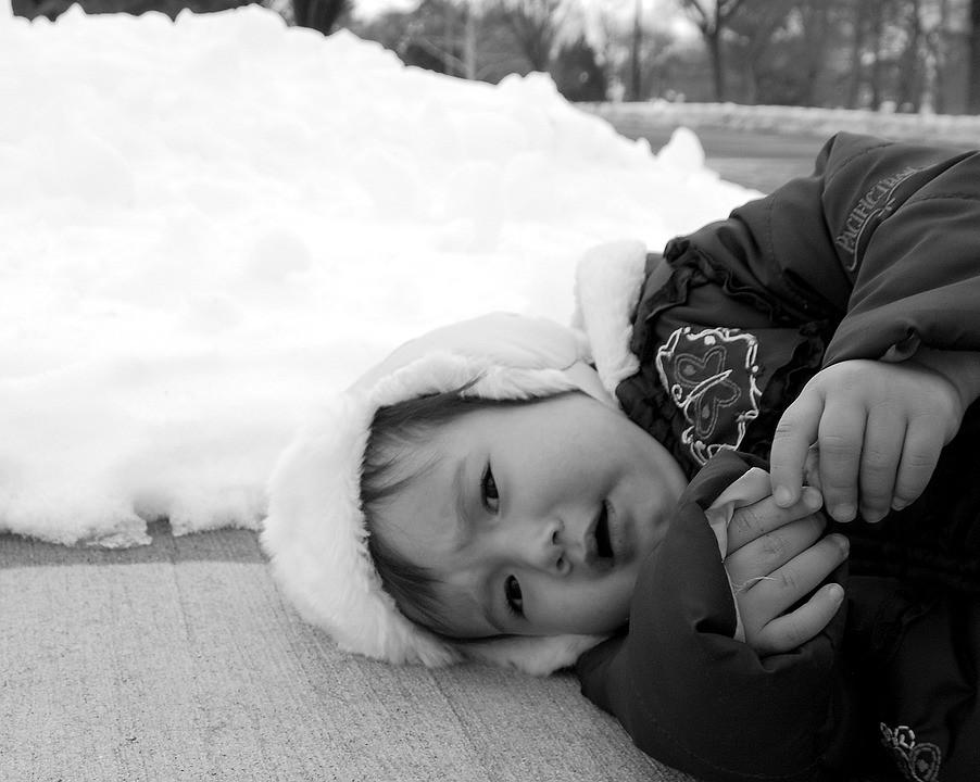 3-letnia dziewczynka, śmierć, mróz, zamarznięcie