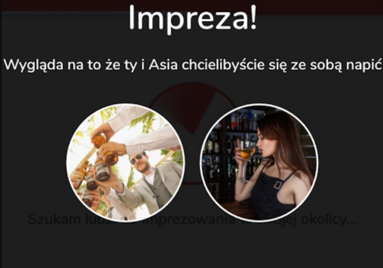 Polska odpowiedź na TINDERA – ta aplikacja pozwoli ci znaleźć osoby do wspólnego PICIA! Będzie nowy HIT INTERNETU?