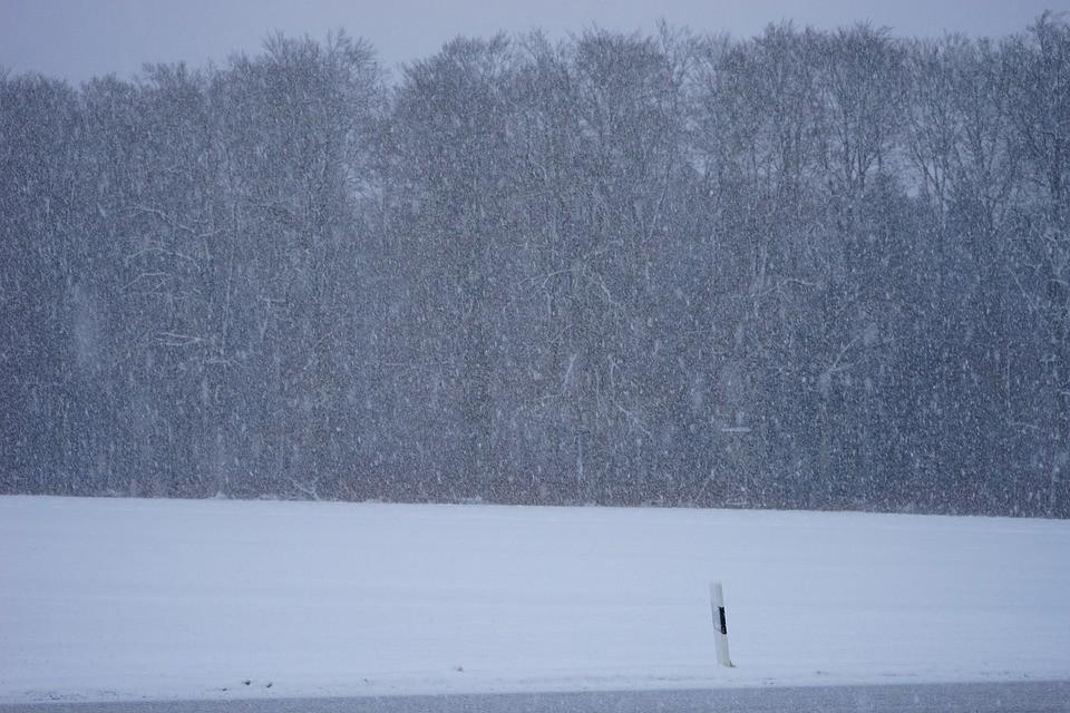 pogoda, śnieg, śnieżyca, ostrzeżenie, imgw, śnieg
