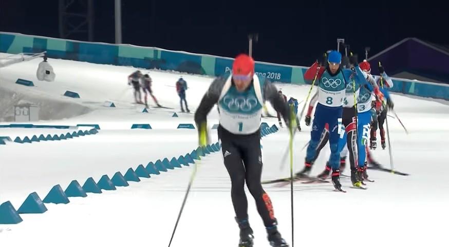 biathlon, komentatorzy eurosportu, niemcy, kpiny, żart, pjongczang, igrzyska