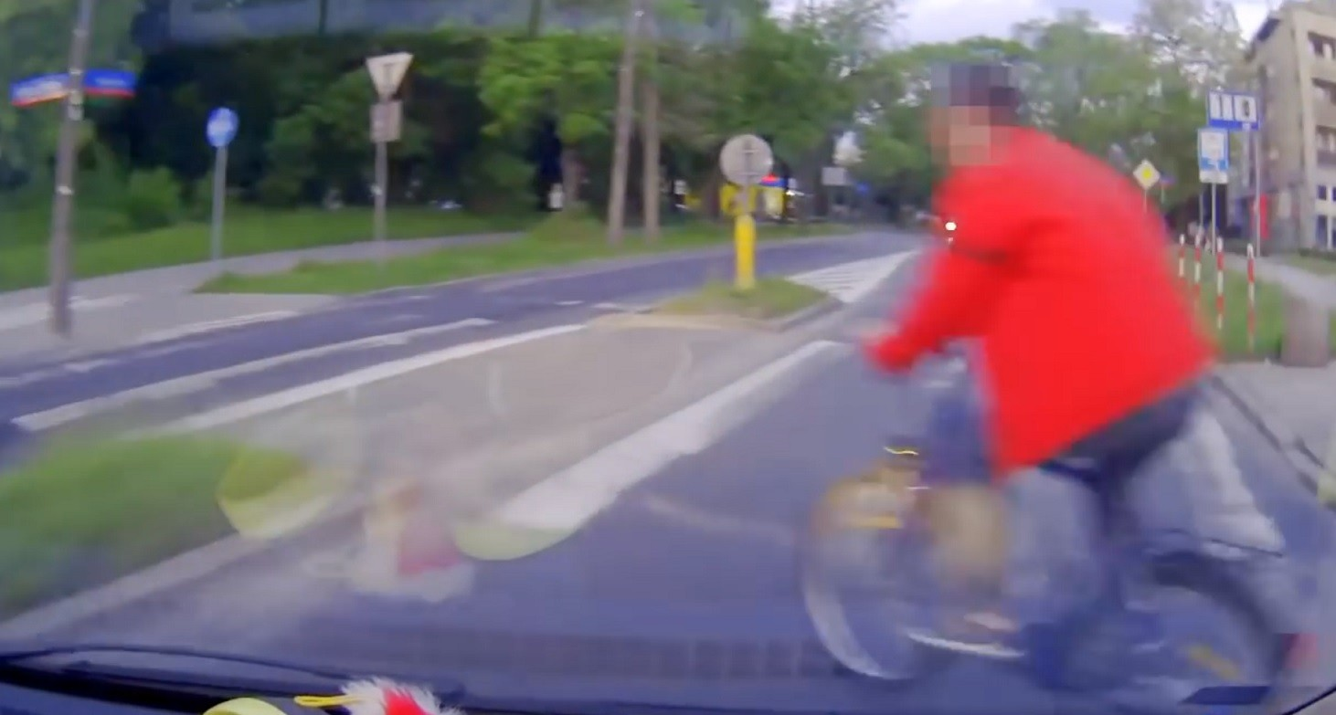 rower, rowerzysta, rowerzystka, wypadek, kolizja, policja, sąd, naubliżał rowerzystce
