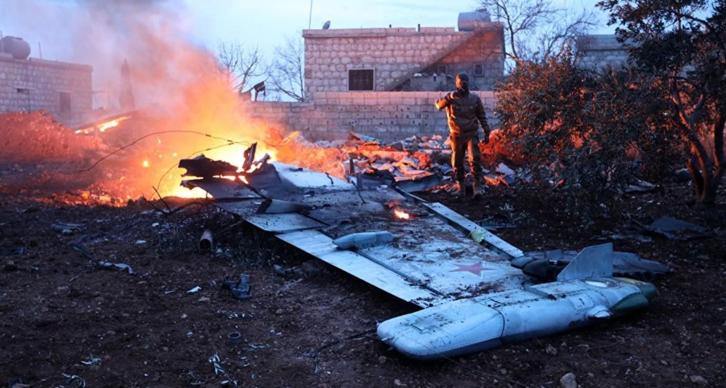 rosjanie, rosja, su-25, syria, zestrzelenie, wojna, idlib