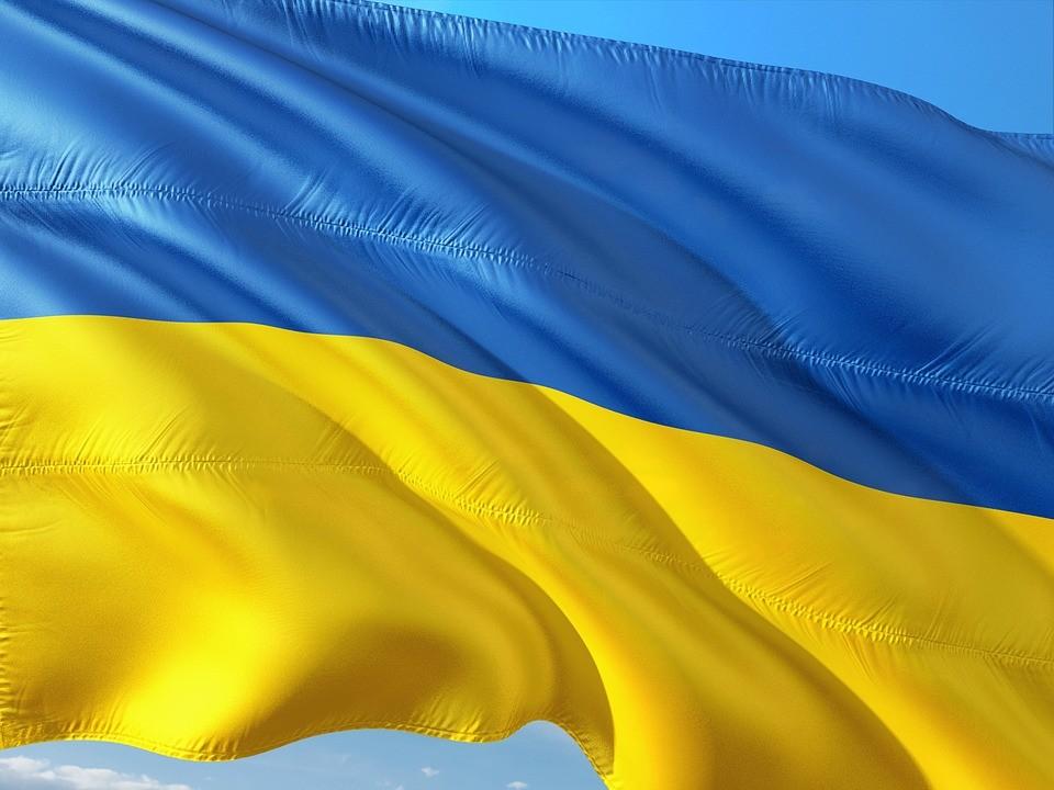 flaga ukrainy, ukraina, upa, bandera,