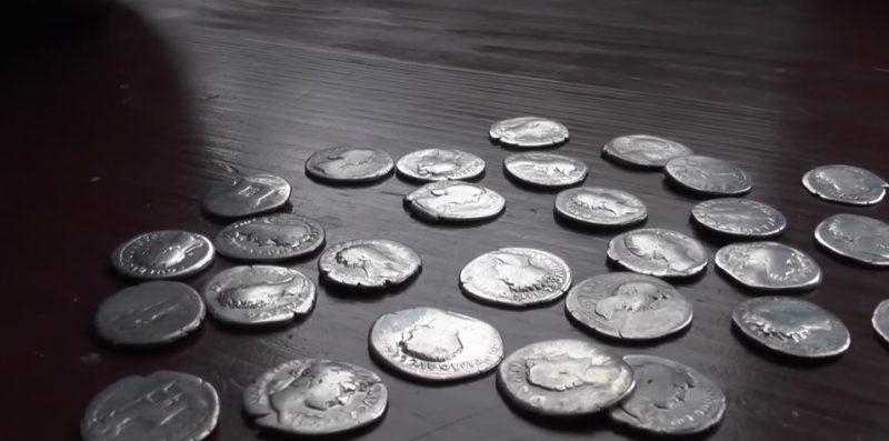 monety, drelów, rzymskie