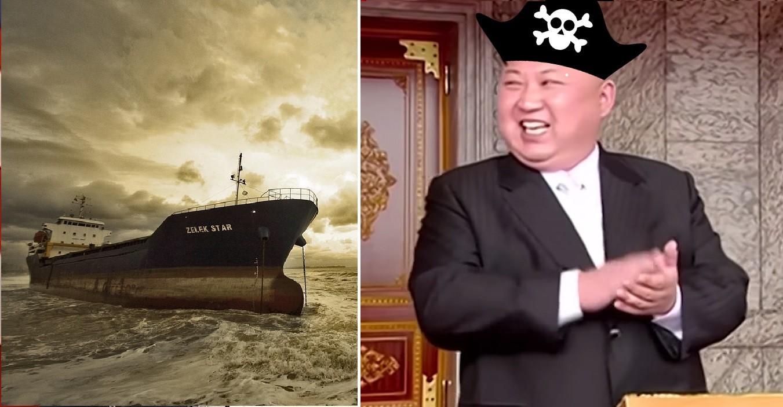 pirat, kim dzong un, korea północna