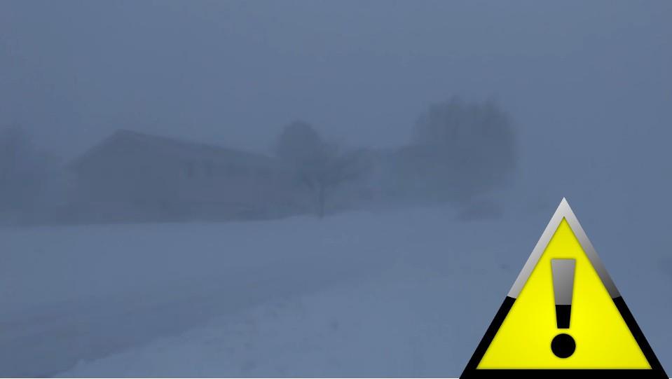 zamiecie, śnieg, mróz, pogoda