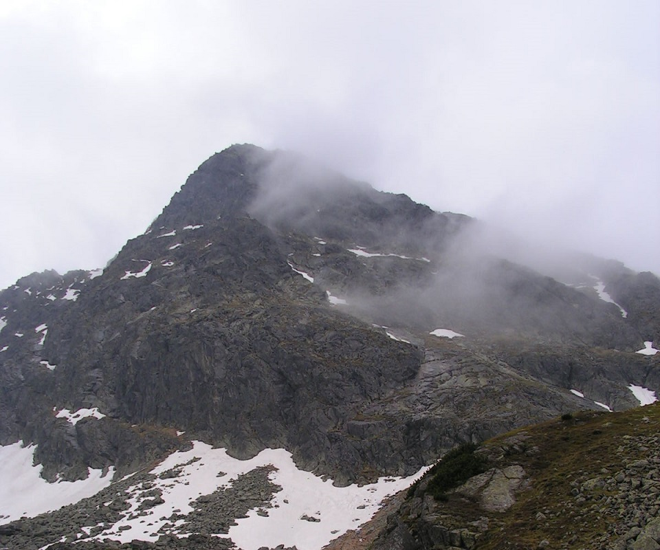 tatrach, tatry, świnica, niebieska turnia