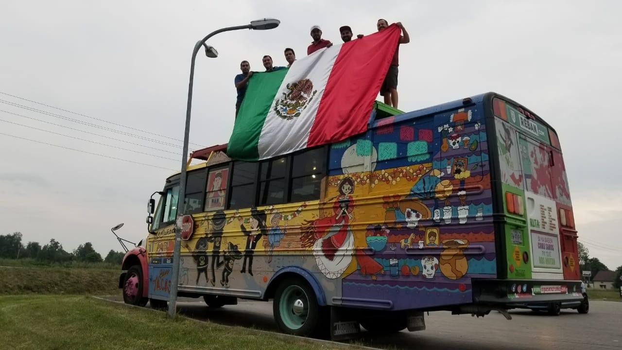 mundial, żona, bus z meksyku