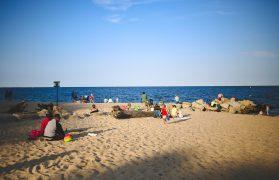 plaża, gdynia, trójmiasto, miny