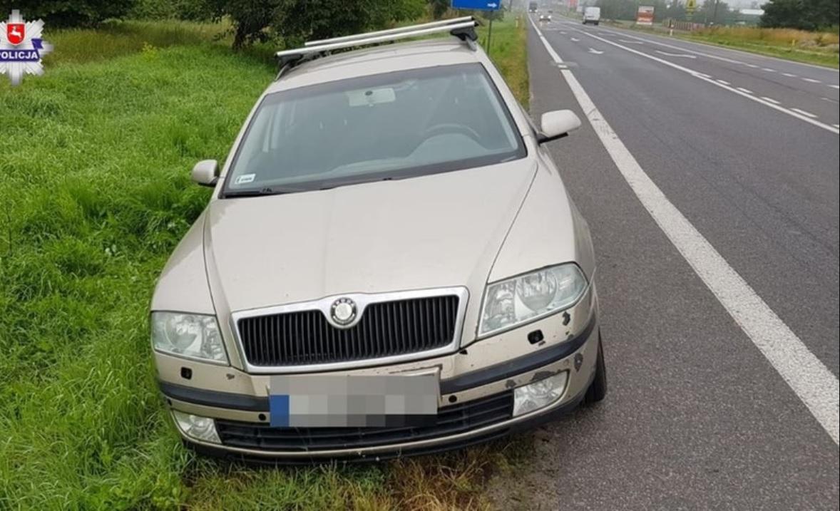pijany nastolatek ukradł samochód