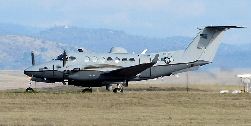 samolot zwiadowczy mc-12w