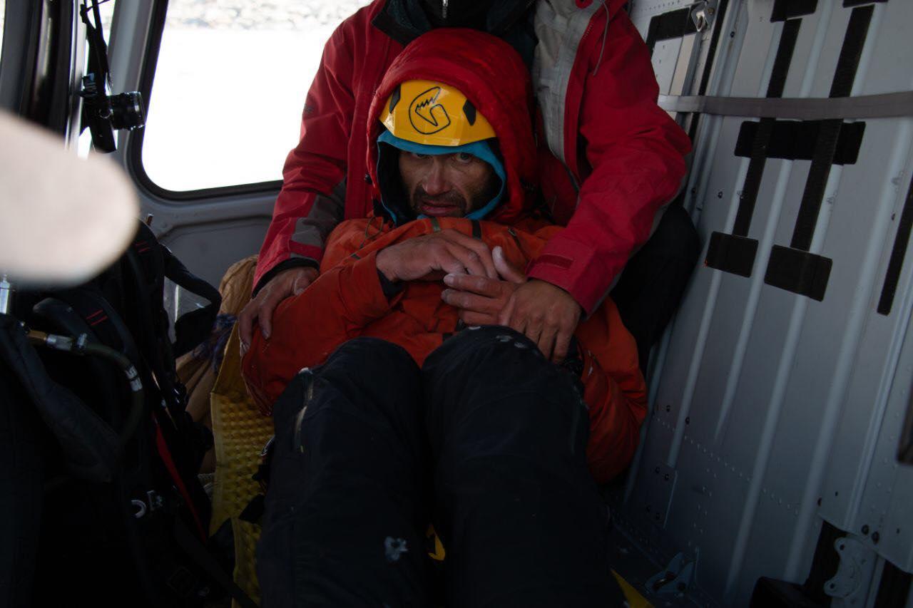 gukow, alpinista, uratowany