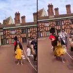 Królewski Gwardzista kontra głupia turystka – wynik starcia mógł być tylko jeden! [VIDEO]