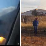 Jak wygląda katastrofa lotnicza od środka? PRZERAŻAJĄCE nagranie pasażera! [VIDEO]