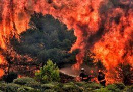 pożar w grecji 26 ciał, Australii