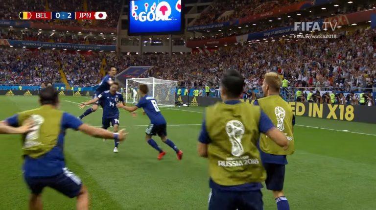 Reprezentacja Japonii ZASKOCZYŁA po meczu z Belgią. Zobacz, co zostawili po sobie w szatni! [FOTO]