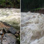 Tatry: MONSTRUALNE ulewy. Zerwane mosty, zalane szlaki, odcięte schronisko. NIE WYCHODŹCIE W GÓRY!