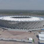 Mundial: niepokojące zdjęcia z Wołgogradu. Stadion zaczyna się ROZPADAĆ?
