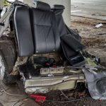 Lublin: chevrolet zderzył się z busem. ROZERWAŁO go na strzępy! [FOTO]