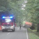 Śląsk: makabryczny wypadek. Spłonął w aucie, nikt nie był w stanie go rozpoznać [FOTO]