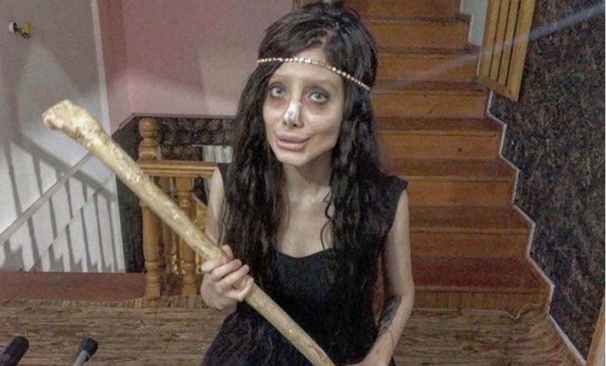 instagramie, sahar tabar, zombie angelina jolie