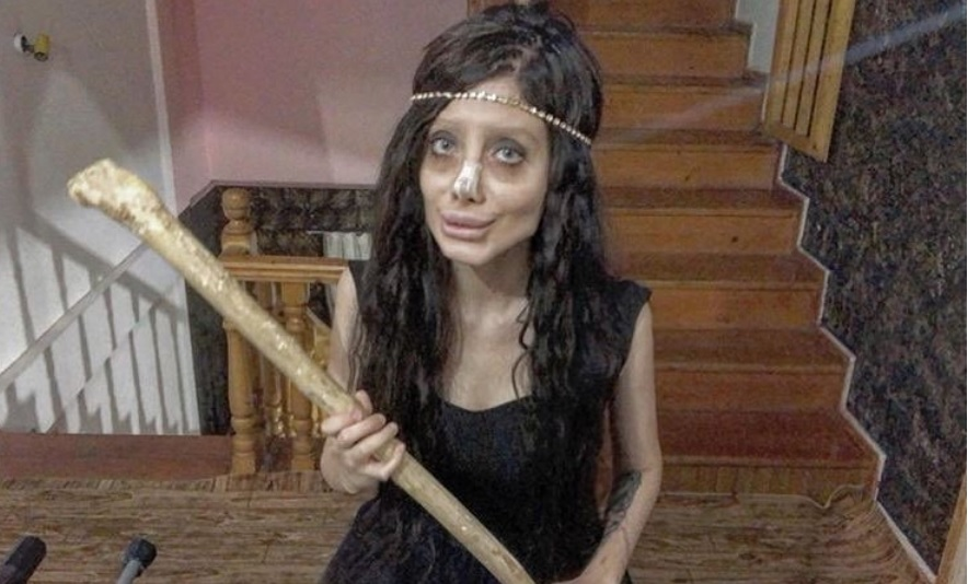 sahar tabar, zombie angelina jolie