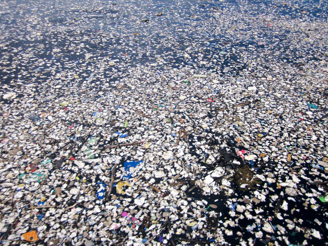 nurkowie, śmieci