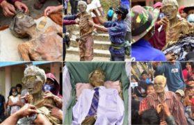 święto zmarłych na tana toraja