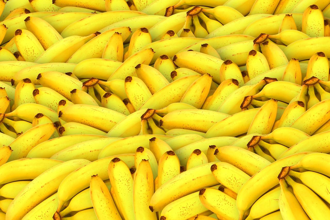 dolarów, bananach, banany