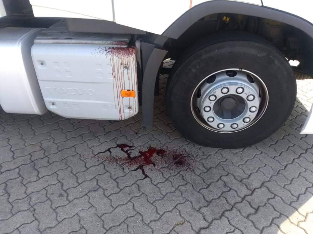 nie żyje polski kierowca tira