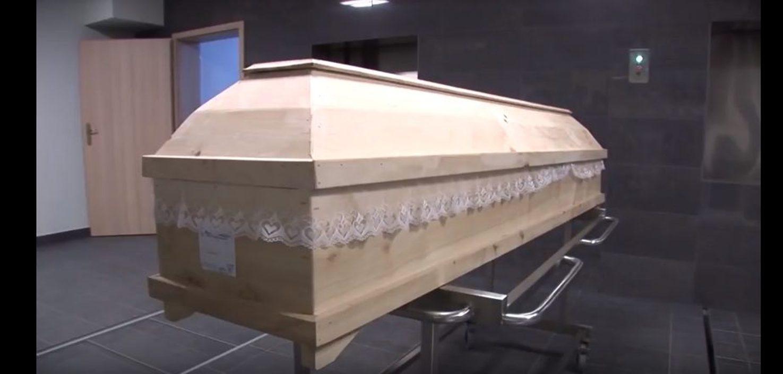 szczątki, pogrzebie, zakładu pogrzebowego